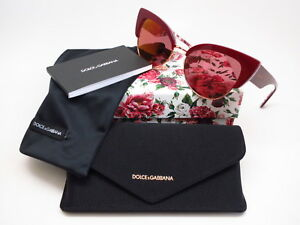 c6205bc6fa3e New Dolce & Gabbana DG 4346 3202D0 Bordeaux on Rose/Peony with ...