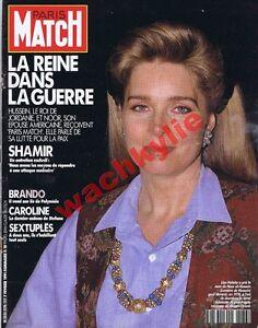 Paris-Match-2176-07-02-1991-Noor-al-Hussein-Jordanie-Irak-Koweit-Stephen-Frears
