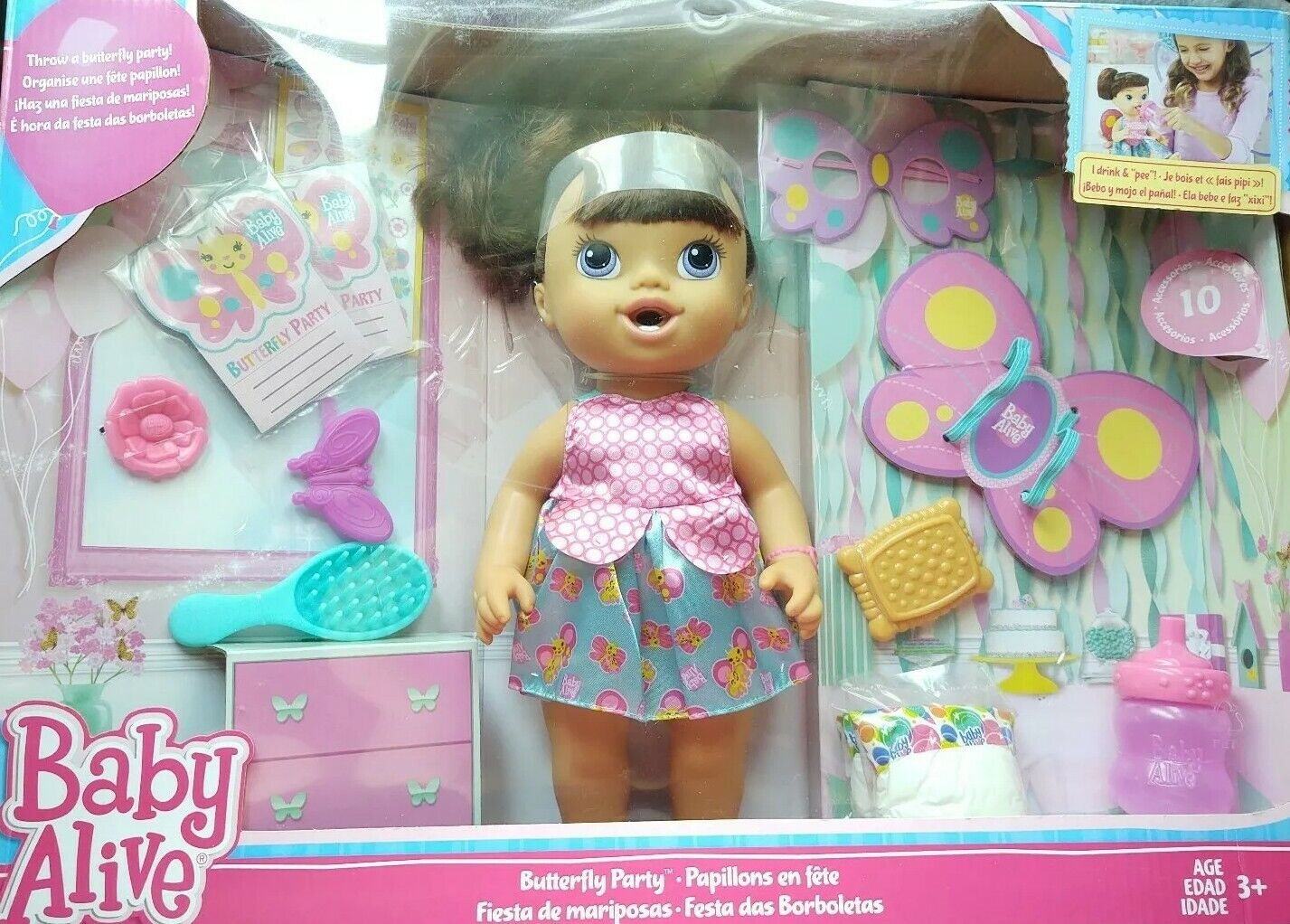 Baby Alive Butterfly Party Doll Blonde B8279