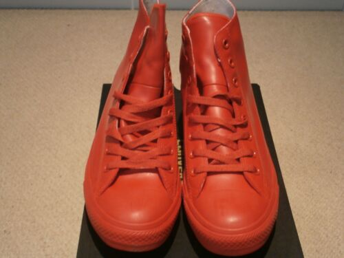 Zapatillas Ct Hi Rubber Uk10 deportivas Tops Red Converse P8UqZxpwng