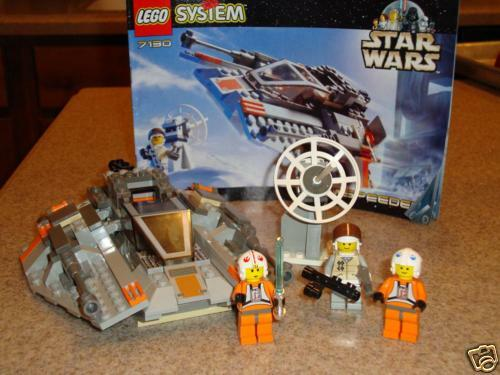LEGO STAR WARS 7130 SNOW SPEEDER 100% COMPLETE