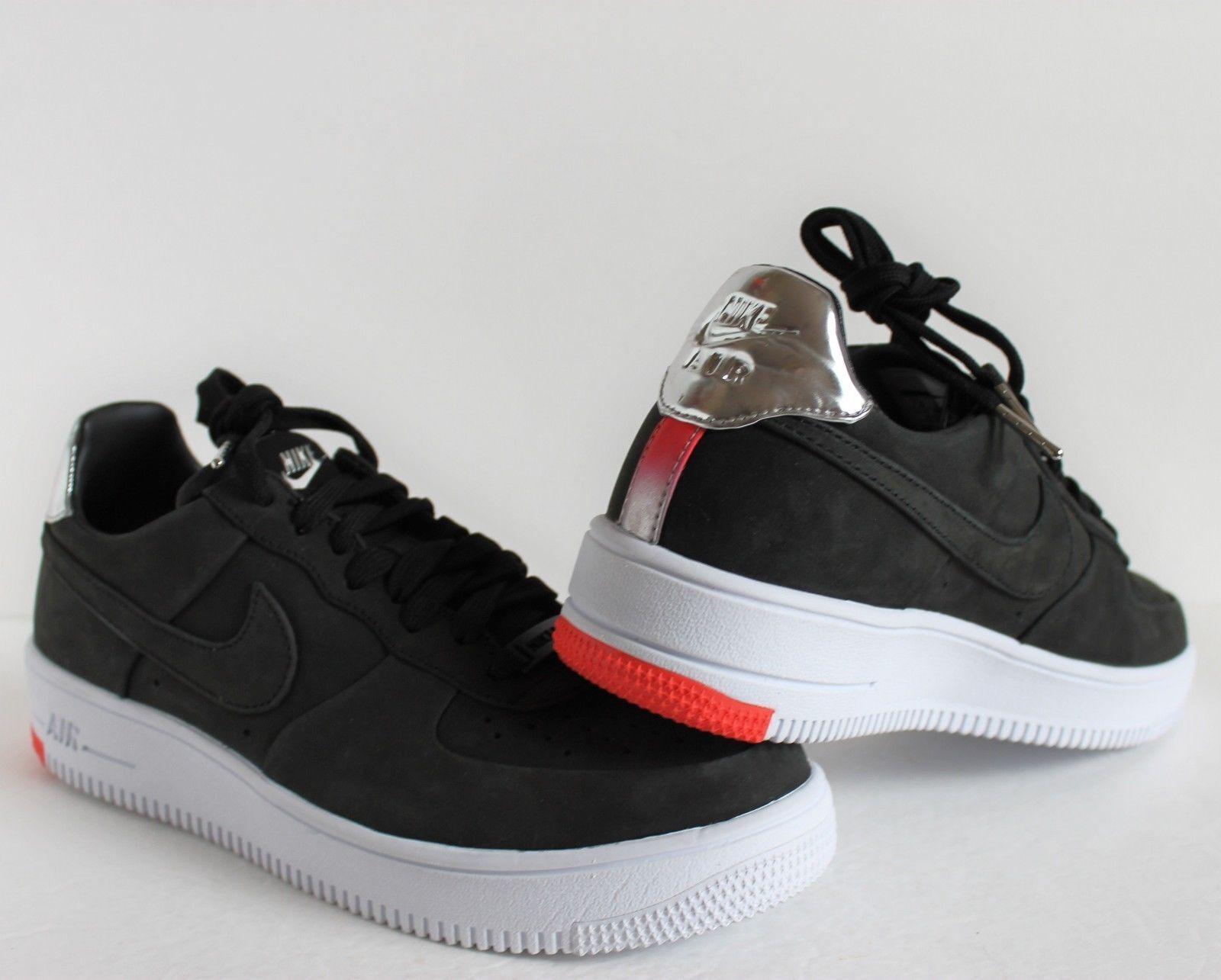 Nike Air Force 1 UltraForce FC QS Black/White 865306-001 Men's Shoes Size 11