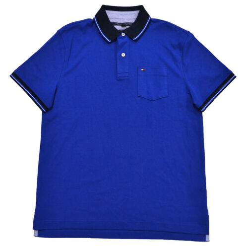 dbca09ee0 tommy-hilfiger-mens-polo-shirt-custom-fit-interlock-