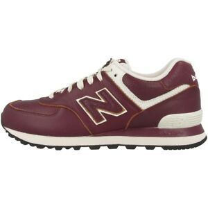 New-Balance-ML-574-a-invite-Chaussures-Bourgogne-Powder-ml574lud-Loisirs-Sneaker-m574-410