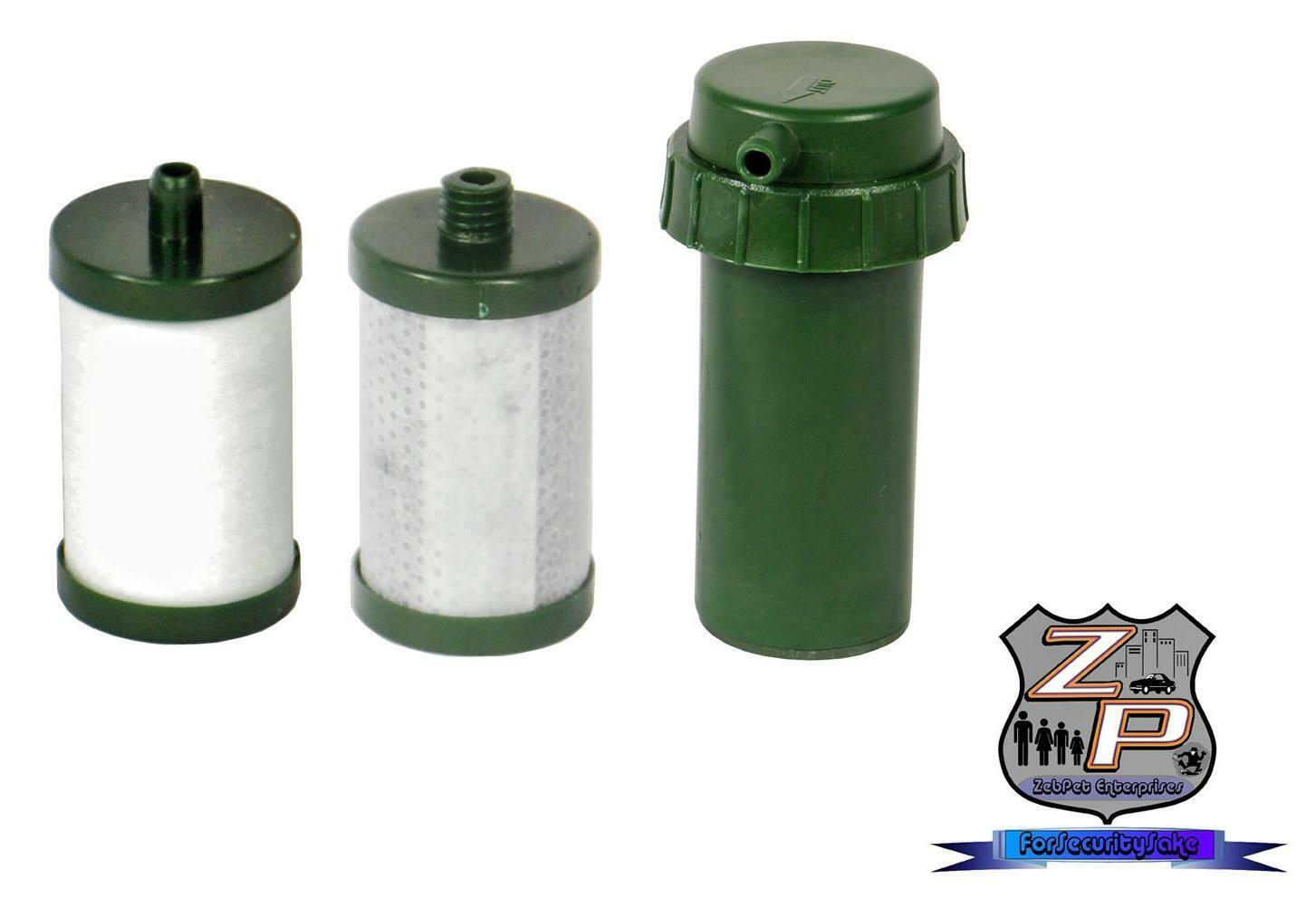 Replacement Filter Bundle For Portable MINIWELL 3 Step Water Filter Pump