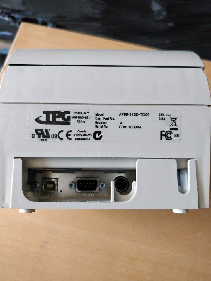 Anden printer, Bonprinter TPG, TPG A799