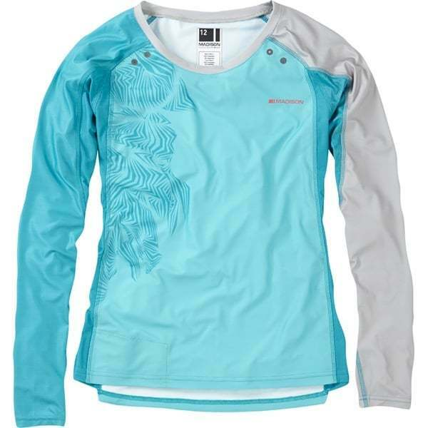 Madison Flux Enduro Womens Long Sleeved Mountain BIke MTB Cycling Cycle Jersey