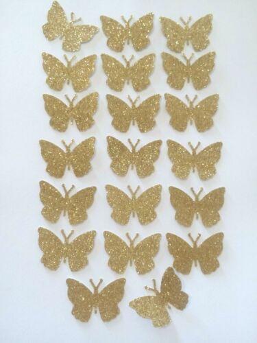 3-D Schmetterlinge