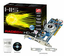 HIS Radeon HD 4350 HDMI 512MB (64 bit) DDR3 AGP 8x Video Card