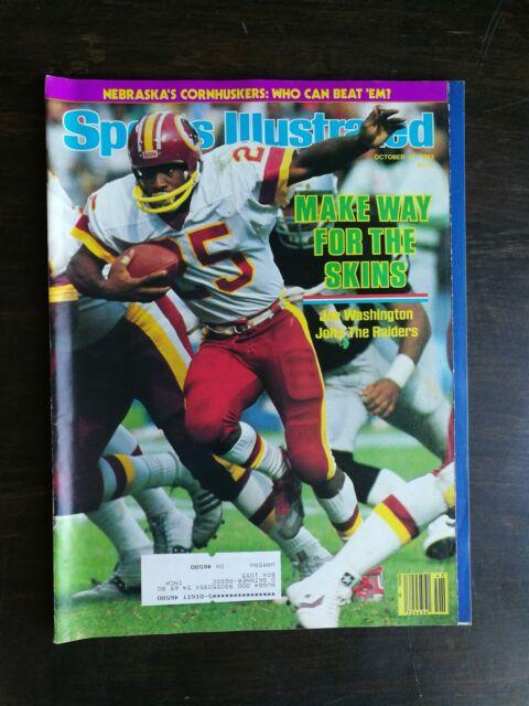 Sports Illustrated October 10, 1983 - Joe Washington ...