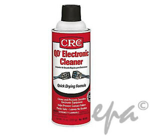 Crc Qd Electrical Contact Electronic Cleaner Spray Solvent