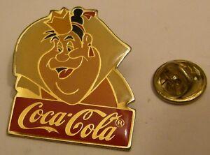 Disney-1986-Coca-Cola-QUEEN-OF-HEARTS-ALICE-IN-WONDERLAND-pin-badge