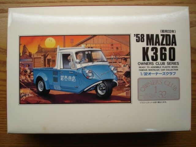 1 32 58 Mazda K360 Model Car Micro Ace Arii Owners Club No 17 For Sale Online Ebay