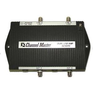 Channel-Master-5216IFD-amp-de-cabecera-Model-LNB-fuente-de-alimentacion