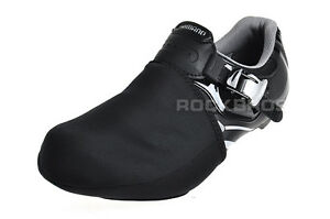 RockBros Cycling Shoe Toe Cover Warmer Protector Black 1 Pair Size EUR 39-44