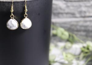 1-Paar-Ohrringe-Tropfen-Marmor-gold-Howlith-facettiert-handmade-handgefertigt