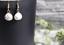 1-Paar-Ohrringe-Tropfen-Marmor-gold-Howlith-facettiert-handmade-handgefertigt Indexbild 1