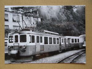 312 Foto SCHWEIZ-MOB Triebwagen 3001 um 1966 -  Austria, Österreich - 312 Foto SCHWEIZ-MOB Triebwagen 3001 um 1966 -  Austria, Österreich