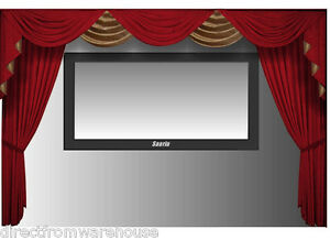 Image Is Loading Saaria Movie Screen Home Theater Velvet Curtains 15