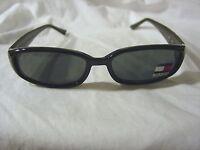 Tommy Hilfiger Black Sunglasses Acrylic Plastic Brand Free Shipping