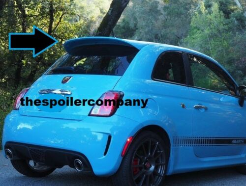 """UN-PAINTED /""""ABARTH-STYLE/"""" REAR SPOILER FOR 2012-2017 FIAT 500 LARGER THAN POP"""