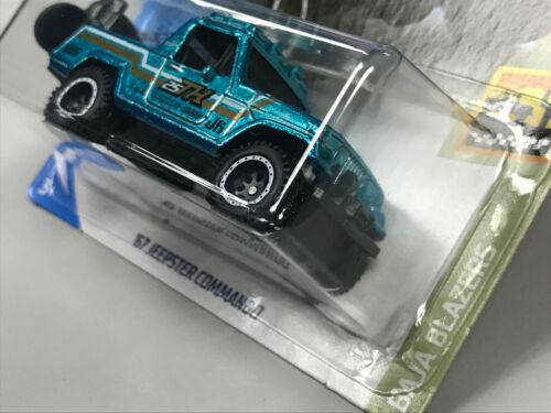 Hot Wheels STH 2020 Super Treasure Hunt US Card /> /'67 Jeepster Commando