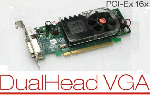 Dell OptiPlex 760 780 790 DT SFF PCIe Low-Profile DMS-59 Dual Video Card