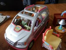 Fisher Price Loving Family Dollhouse Silver Van Twin Time Passenger Front Door
