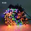 50-100-200-LED-Solar-Power-Fairy-Garden-Lights-String-Outdoor-Party-Wedding-Xmas thumbnail 4
