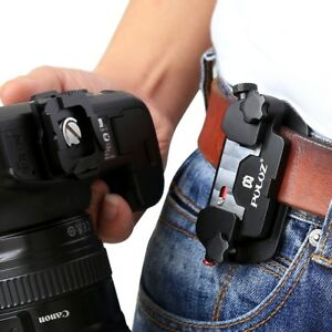 Alloy-Quick-Release-Camera-Waist-Belt-Strap-Mount-Clip-DSLR-Canon-Nikon-Camera