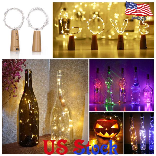 Led Wine Bottle Cork String Lights Valentine Day Wedding Parties Home Decoration For Sale Online,Front New Dream House Home Design