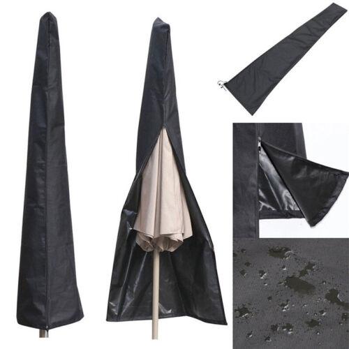 Outdoor Parasol Banana Umbrella Cover Cantilever Waterproof Patio Shields Large