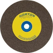 Norton Grinding Wheel 8in X 1in Brown Aluminum Oxide 60 Grit