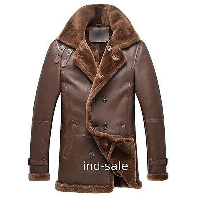 Custom Tailor Made All Size Lambskin Blazer Pea Coat Nappa Fur Leather Jacket