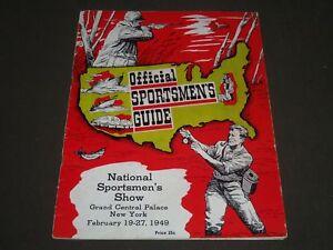 1949 FEBRUARY 19-27 OFFICIAL SPORTSMEN'S SHOW PROGRAM - ST 5224