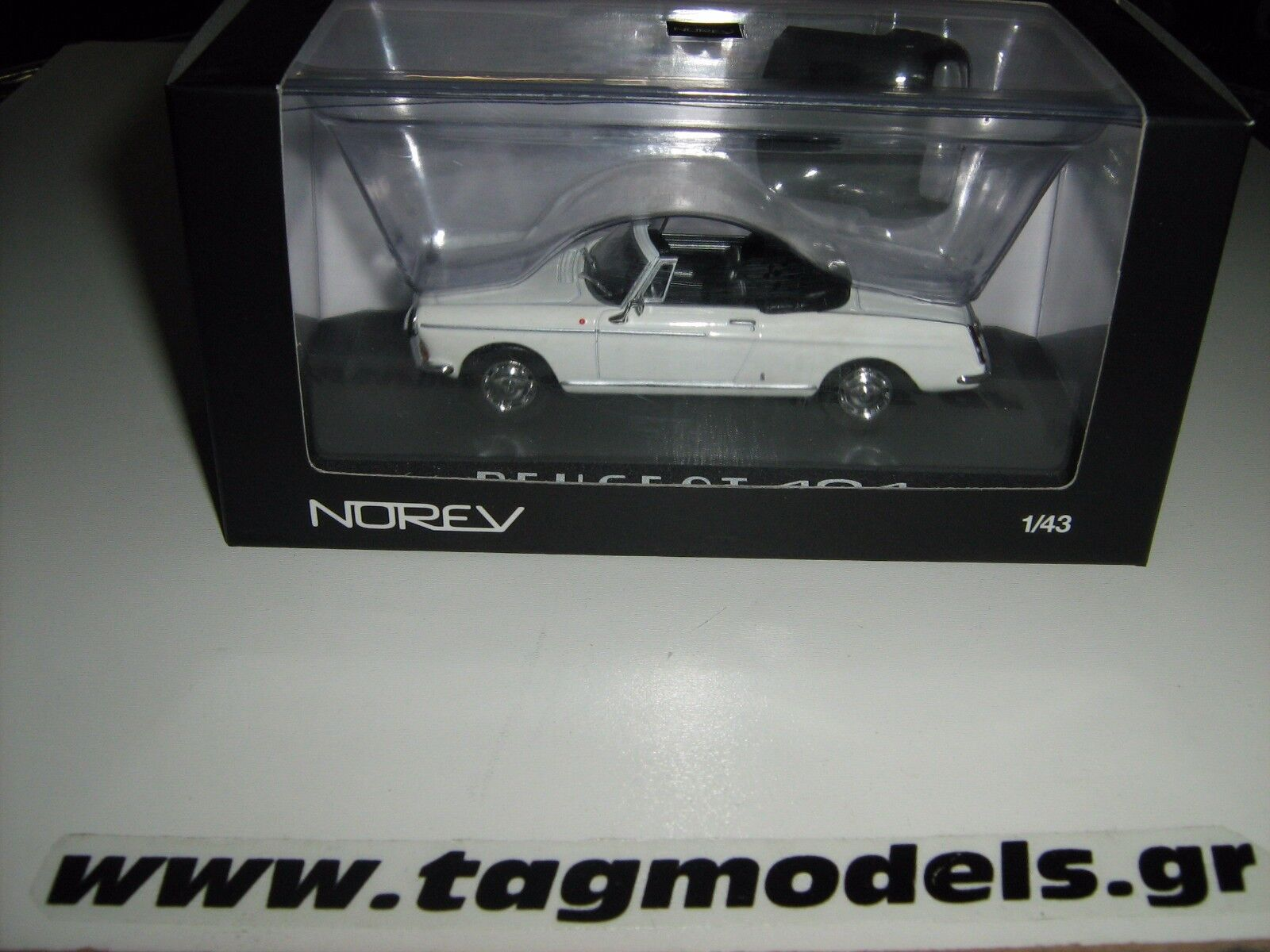 NOREV 474436 1 43 PEUGEOT 404 CABRIOLET CABRIOLET CABRIOLET BRAND NEW IN A BOX 90c4a5