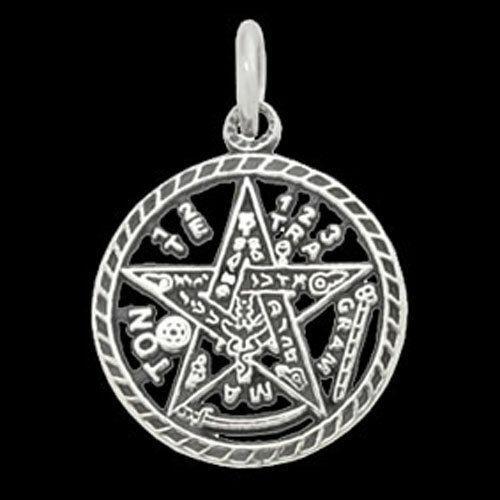 Tetragrammaton Bijoux Pendentif 925er en Argent