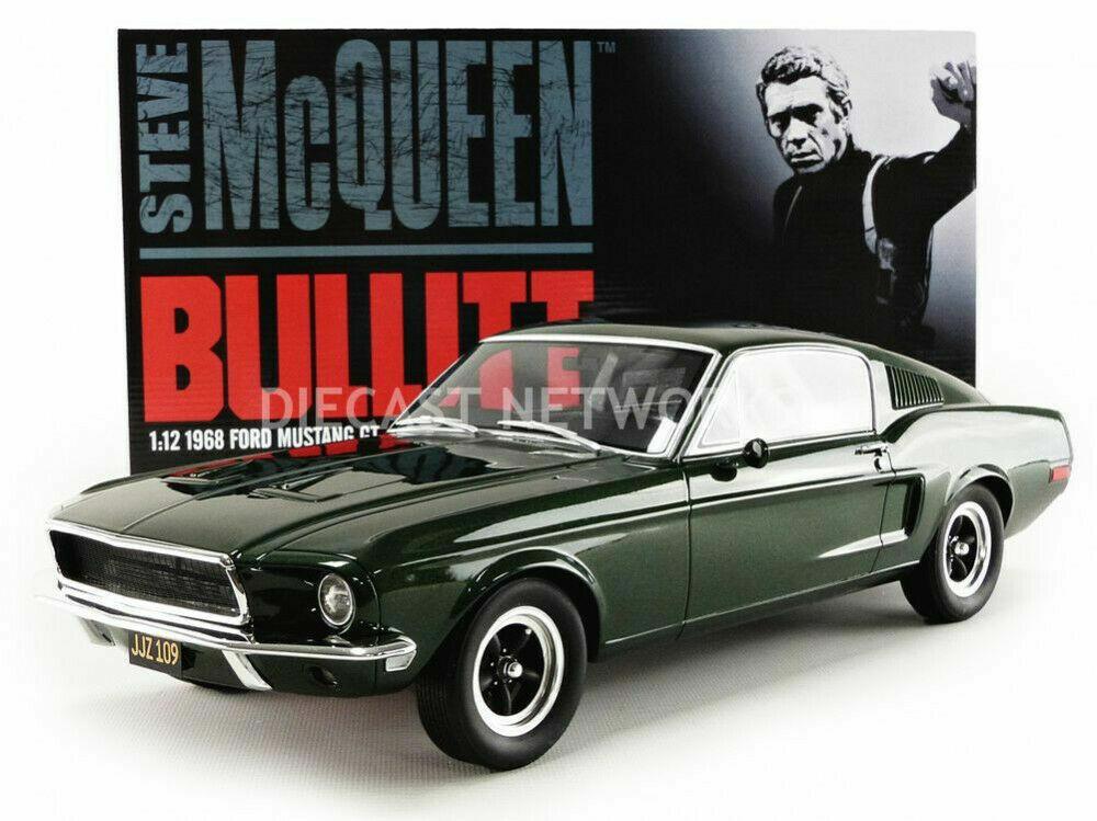 1 12 Original filmmodell Steve McQUEEN BULLITT mustang 1968