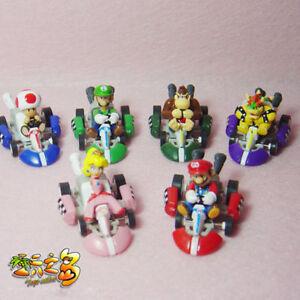 Game-Super-Mario-Luigi-Peach-PVC-Figure-Doll-Racing-Car-Pullback-Kart-Toy-6pcs