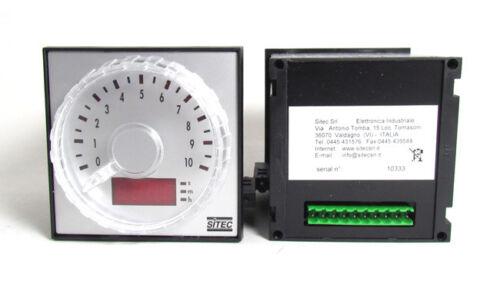 Sottoriva 96mm Timer For Spiral Mixers: VMI Escher SITEC 0-10 Range Lucks