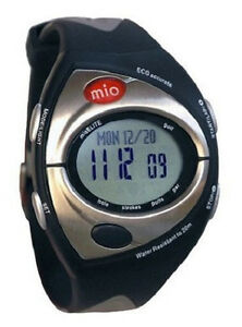 new mio elite golf xe heart rate monitor stylish sport watch rh ebay com Mio Calorie Watch Mio Watch Models