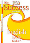 KS3 Success Workbook English Levels 4-7 by Letts Educational (Paperback, 2007)