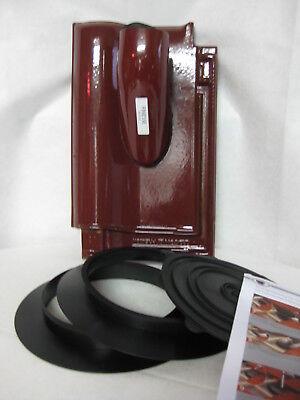 Heimwerker Sammlung Hier Creaton Premion Solardurchgang Nw70 Set Finesse Weinrot Glasiert Quell Sommer Durst