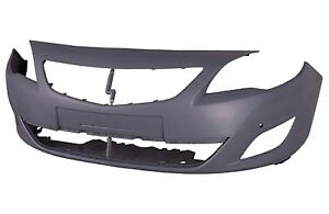 VAUXHALL ASTRA J 2009-2012 FRONT BUMPER PRIMED WITH SENSOR NEW OE 13264415