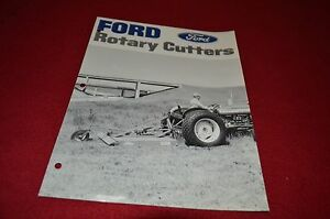Ford 901 rotary Cutter manual