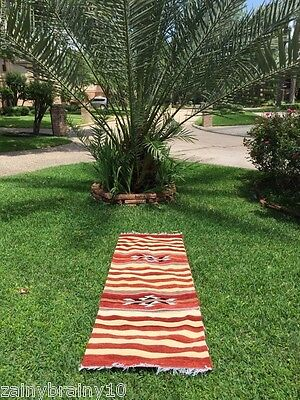 Red-White Area rug hand made ARABIC/Mediterranean Hookah lounge
