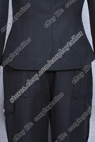 Stargate Atlantis Universe Costume SGU Halloween Female Black Cosplay Uniform
