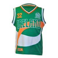 Croker Kids Basketball Jersey Irish Ireland Drifit Embroidered Child Shirt