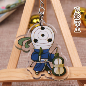 Japan Anime Naruto Uzumaki Naruto Acrylic Key Ring Pendant Keychain Gift