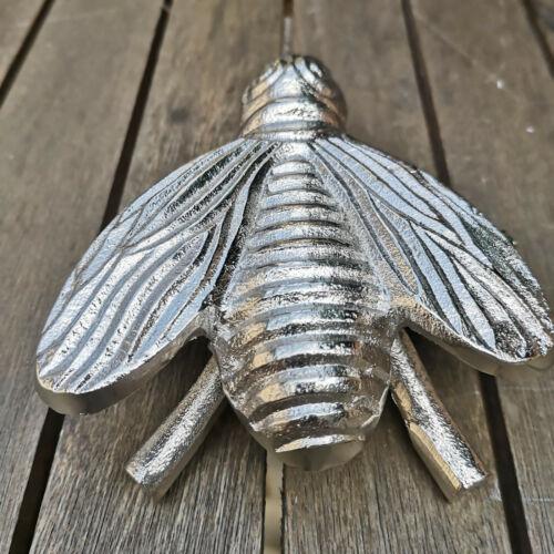 Dekofigur abeille abeilles personnage argent n 13 cm personnage MOUCHE métal insecte décoration